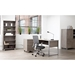 Karlstad Modern Office Collection - Gray Laminate