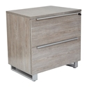 Karlstad Modern Lateral File Cabinet in Gray