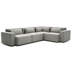 Kirkland Contemporary Sectional Sofa