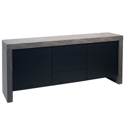 Kobe Concrete Contemporary Sideboard