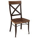 Kyle Wood Dining Chair by Amsico