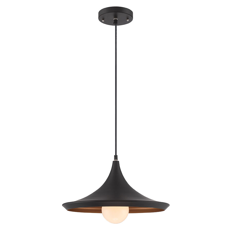 Laban Black Contemporary Pendant Lamp