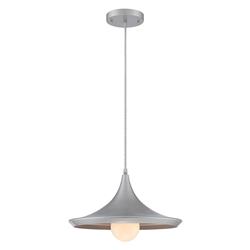 Laban Silver Contemporary Pendant Lamp