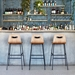 Gus* Modern Lecture Bar Stool in Natural Ash Wood - Lifestyle