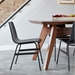Lecture Dining Chair in Black Ash by Gus Modern