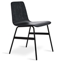 Lecture Black Ash Dining Chair by Gus Modern