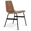 Lecture Walnut Dining Chair by Gus Modern