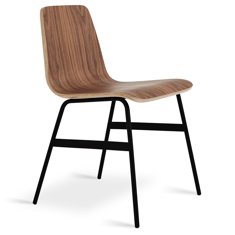 Gus Modern Lecture Dining Chair In Walnut Eurway