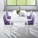 Pezzan Leon Extension Dining Table - White