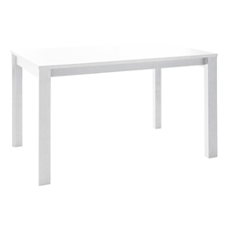 Pezzan Leon Modern White Extension Dining Table