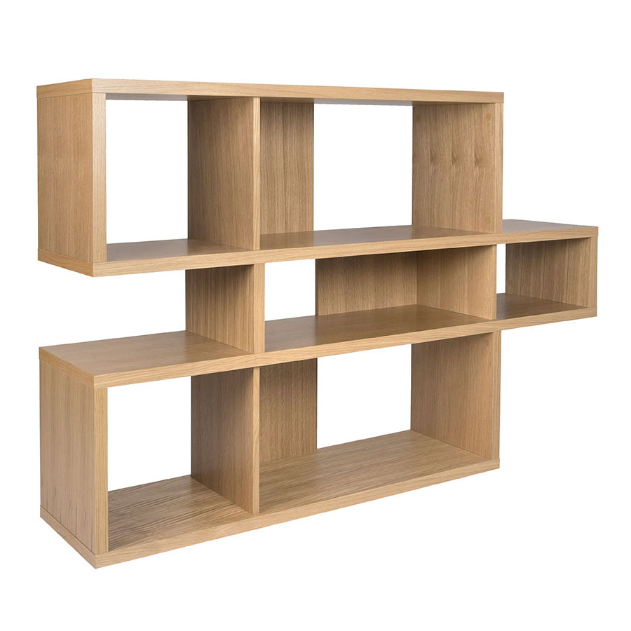 London Oak Contemporary Bookcase