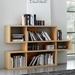 London Oak Contemporary Bookcase Room