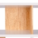 London White + Cork Modern Double Height Bookcase Detail