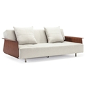 Long Horn Modern Sleeper w/ Arms in Natural by Innovation