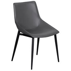 Lorin Modern Gray Side Chair