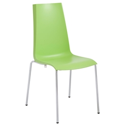 Mannequin Green Modern Dining Chair