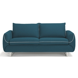Maestro Modern Sleeper Sofa in Blue by Pezzan