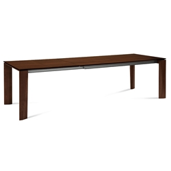 Major Chocolate Modern Extension Dining Table