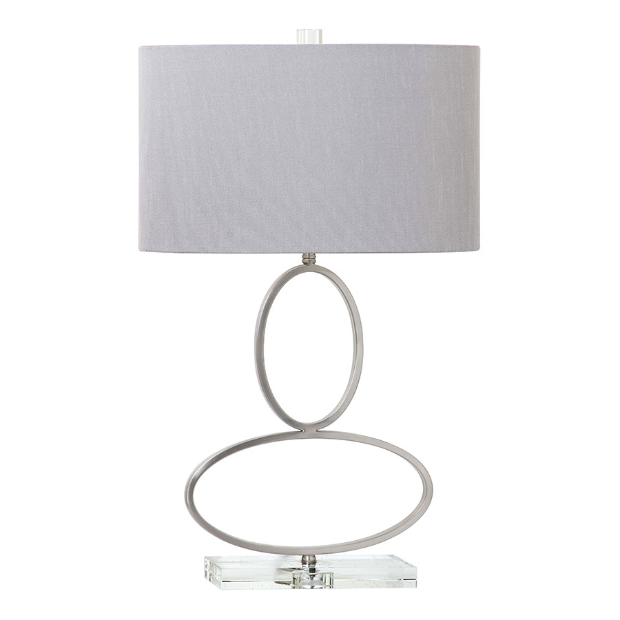 Manfried Nickel Modern Table Lamp Collectic Home