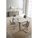 Manjula Taupe Contemporary Extension Table