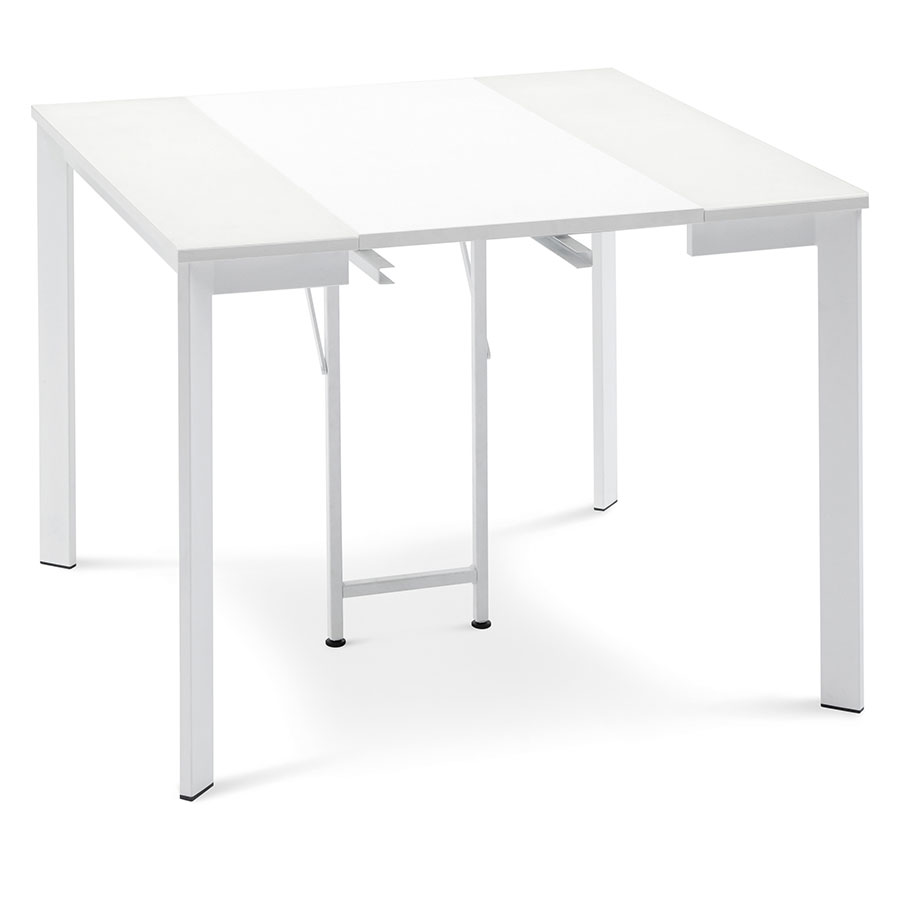 Marcia White Contemporary Extension Console Dining Table