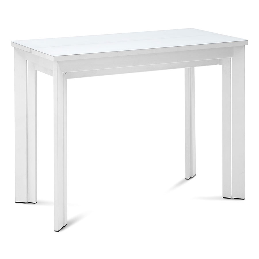 Marcia White Contemporary Extension Dining Console Table