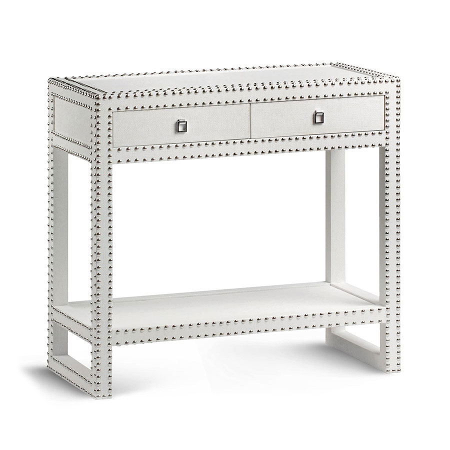 White parsons console table - Marco Console Table White