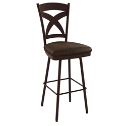 Marcus Contemporary Counter Stool by Amisco - Oxidado/Bark