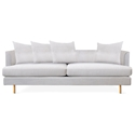 Gus Modern Margot Sofa in Oxford Quartz Fabric