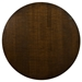 Martin Modern Round Etched Walnut Cocktail Table by Saloom - Top View
