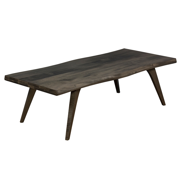 Martin Modern Wave Edge Nantucket Cocktail Table by Saloom