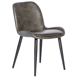 Max Modern Side Chair in Dark Gray