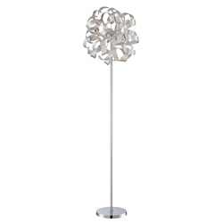 Maya Contemporary Floor Lamp