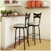 Meadow Swivel Stool Collection by Amisco