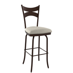 Meadow Contemporary Counter Stool Shown in Oxidado by Amisco