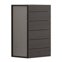 Milan Contemporary Wenge High Chest