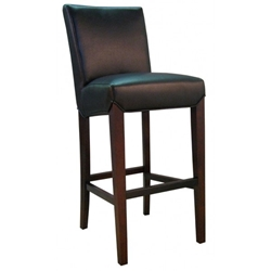 Milt Contemporary Barstool in Black