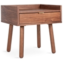 Mimico Contemporary End Table by Gus Modern in Walnut