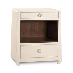 Ming Natural Contemporary Nightstand