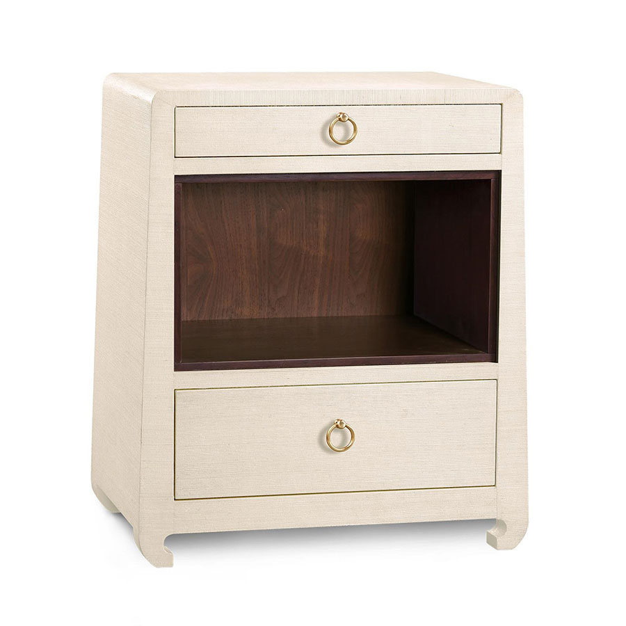 ming natural nightstand by bungalow   collectic home - ming natural contemporary nightstand