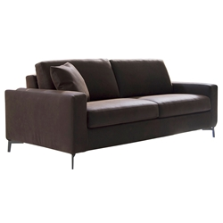 Mistral Modern Sleeper Sofa in Brown by Pezzan