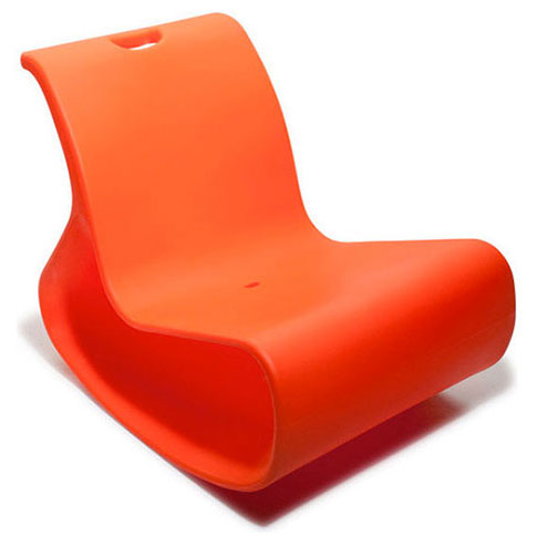 Mod Orange Lounger by Offi & Company