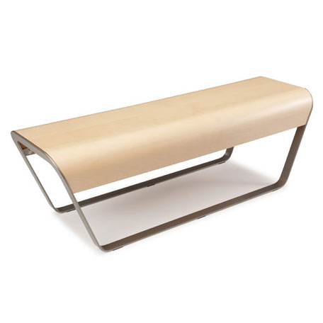 Momo Modern Birch Bench by Offi & Company