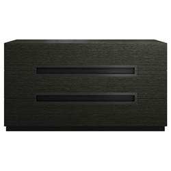 Modloft Monroe Modern Dresser in Gray Oak Wood