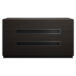 Modloft Monroe Modern Dresser in Wenge Wood