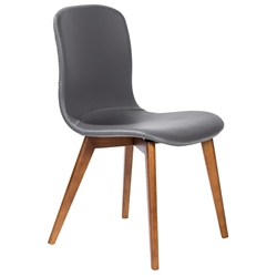 Mai Modern Gray Dining Chair