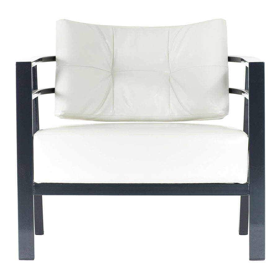 Munich Contemporary Accent Chair by Amisco