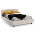 Muro Contemporary Bed in Oyster by Amisco