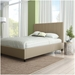 Namaste Upholstered Bed by Amisco in Pebble