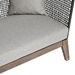 Modloft Netta Modern Outdoor Left Chaise - Detail